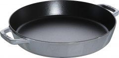 Staub Cast Iron Frying Pan 34 cm, Graphite grey 40511-072-0