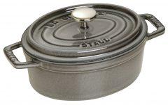 Staub Oval Cocotte 17 cm, Graphite grey 40509-481-0