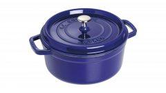 Staub Round Cocotte 26 cm, dark blue 40510-284-0
