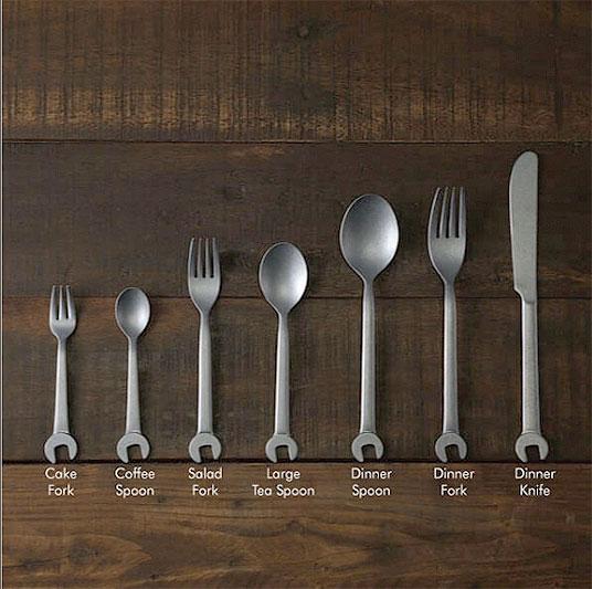 Photo #2 Aoyoshi Vintage Spanner Dinner Spoon  555237