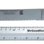 Photo #2 Baker's knife  Martinez&Gascon Virola (4858)