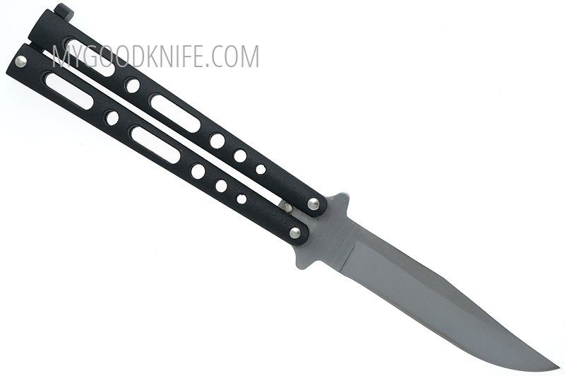 Photo #2 Balisong Bear&Son Butterfly Black  117B 10cm