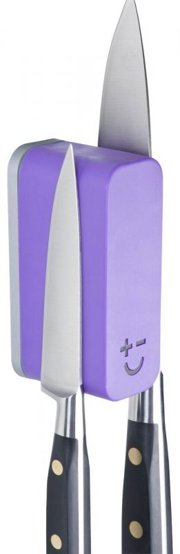 Photo #2 Bisbell Magmates Double Knife Pod (wall mounted) Purple