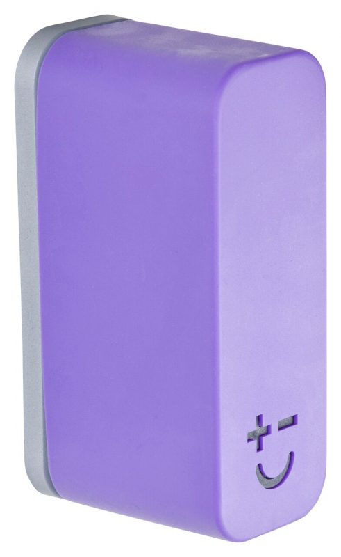 Photo #1 Bisbell Magmates Double Knife Pod (wall mounted) Purple