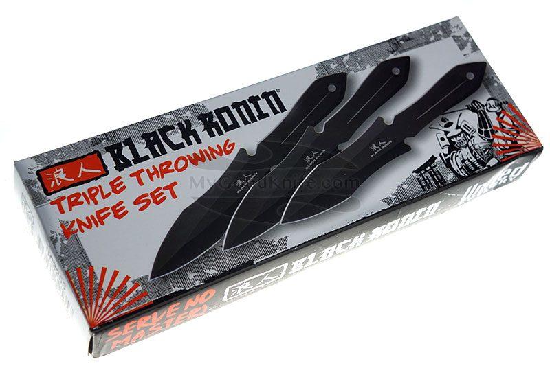 Фотография #4 Метательный нож United Cutlery Black Ronin Набор из 3 шт. UC3253 10.2см