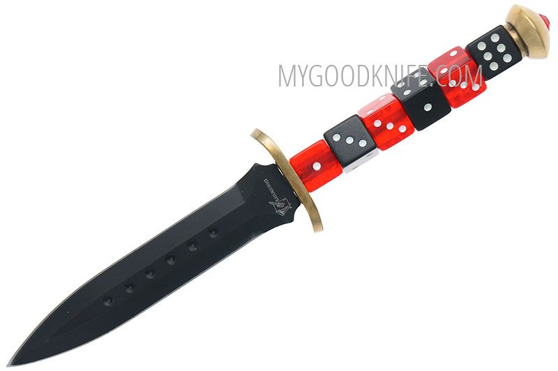 Фотография #3 Blackjack  Dice Dagger Knife BJ047