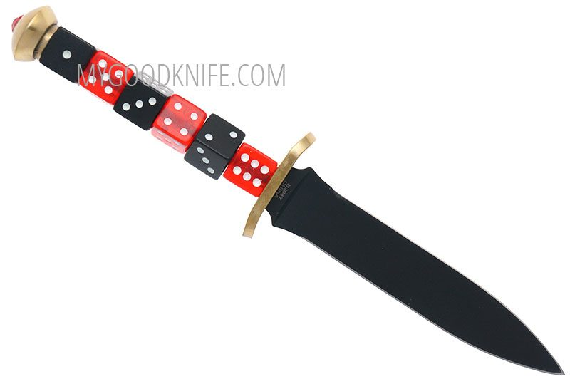 Photo #1 Blackjack  Dice Dagger Knife BJ047
