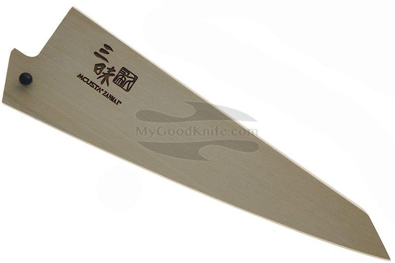 Фотография #1 Ножны Mcusta Деревянные, Сая для обвалочных ножей 145 мм mnsb145