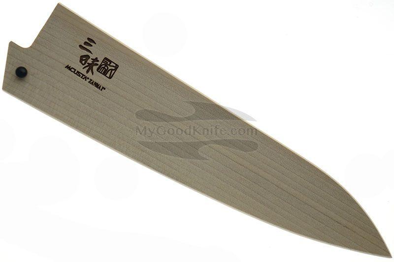 Фотография #1 Ножны Mcusta Деревянные, Сая для кухонных ножей Гьюто 18 см mnsg180