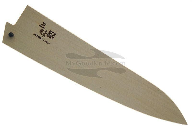 Фотография #1 Ножны Mcusta Деревянные, Сая для кухонных ножей Гьюто 21 см mnsg210