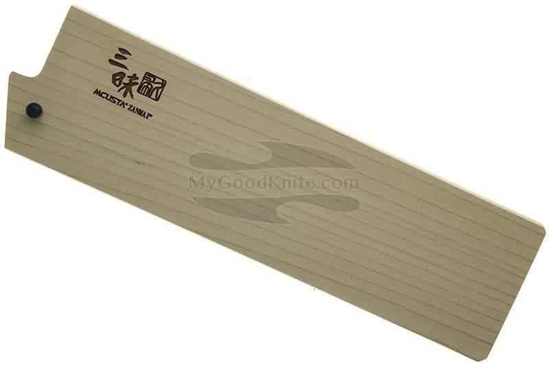 Фотография #1 Ножны Mcusta Деревянные, Сая для японских ножей Накири 165 мм mnsn165