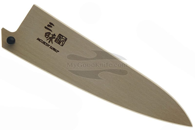 Фотография #1 Ножны Mcusta Деревянные, Сая для овощных кухонных ножей 11 см mnsp110