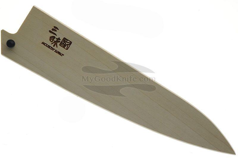 Фотография #1 Ножны Mcusta Деревянные, Сая  для кухонных ножей 15 см mnsp150