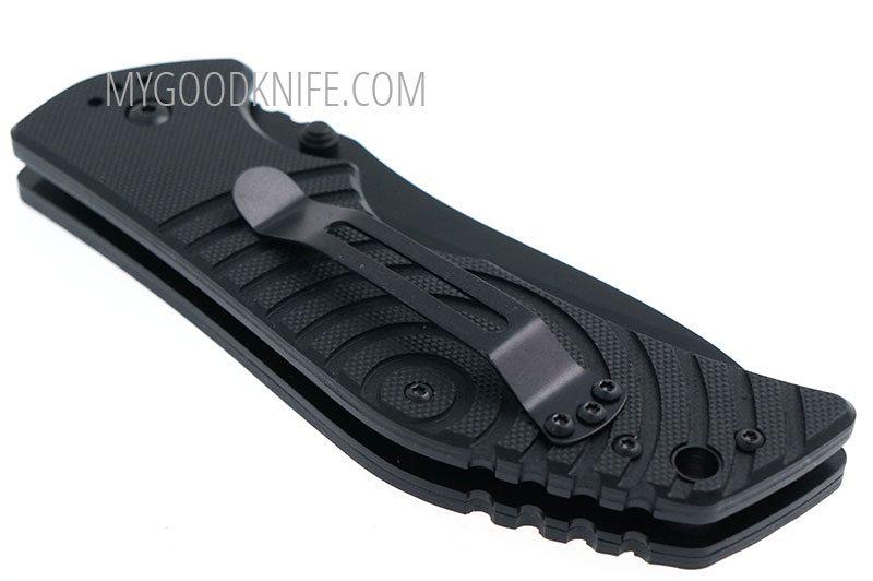 Photo #4 Bloke X AUS-8 Black Titanium Kizlyar Supreme