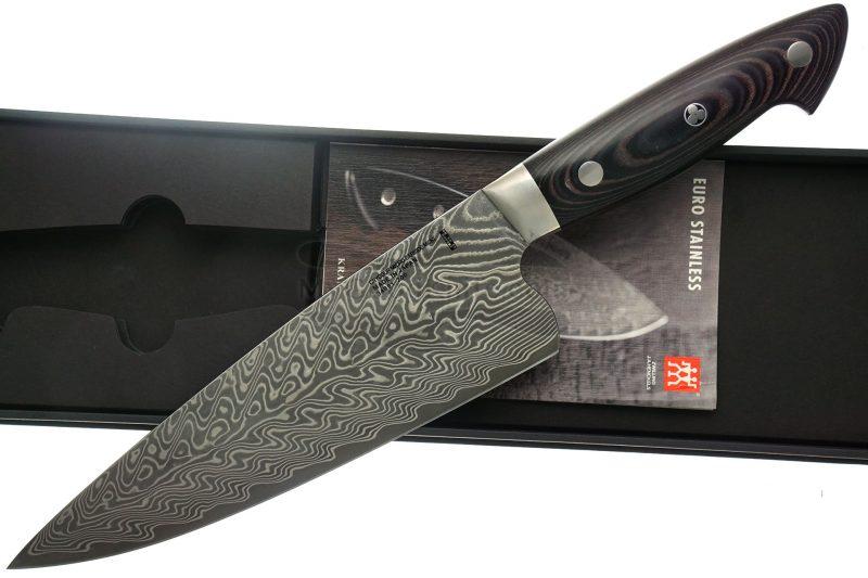 Фотография #1 Поварской нож Zwilling J.A.Henckels Bob Kramer Euro Stainless Damask 34891-201-0 20см