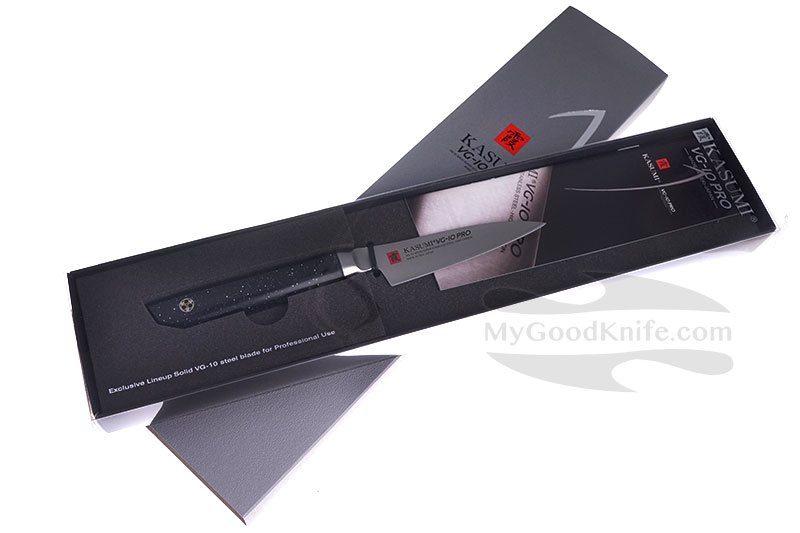 Фотография #1 Нож для овощей Kasumi VG10 Pro