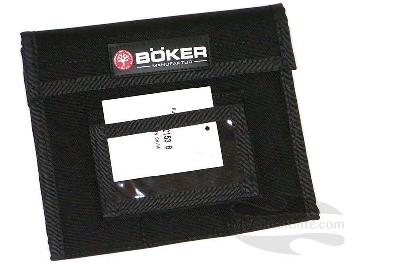 Фотография #1 Böker Knife Vault black small 09BO153