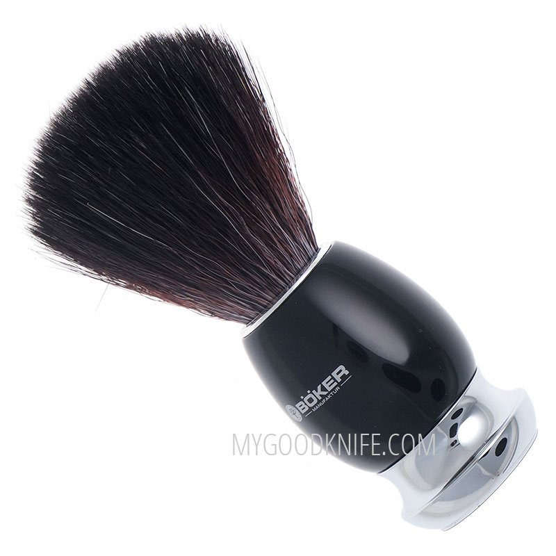 Photo #1 Böker Shaving Brush Black Fibre 04BO125