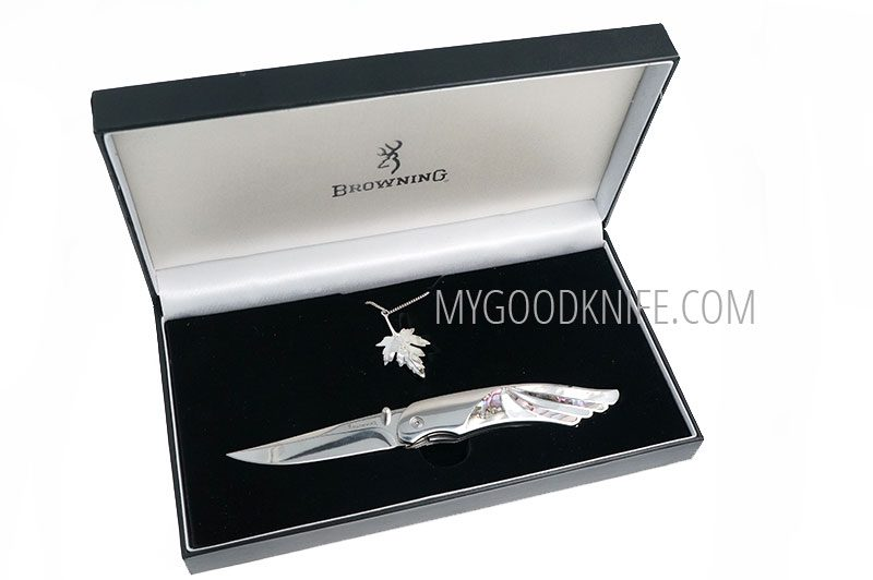 Valokuva #2 Browning Leaf Necklace Knife Combo (BR009)