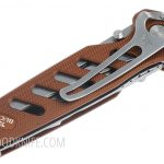 Фотография #7 Buck 183 Alpha Crosslock Knife Brown 0183BRS-B