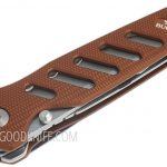 Фотография #6 Buck 183 Alpha Crosslock Knife Brown 0183BRS-B