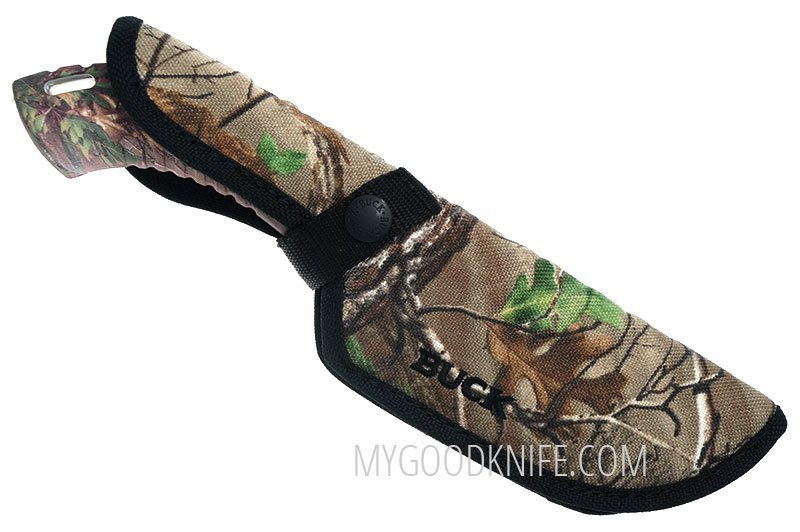 Фотография #3 Buck Omni Hunter™ 12PT Knife Realtree® Xtra Green Camo, Guthook 0393CMG20-B