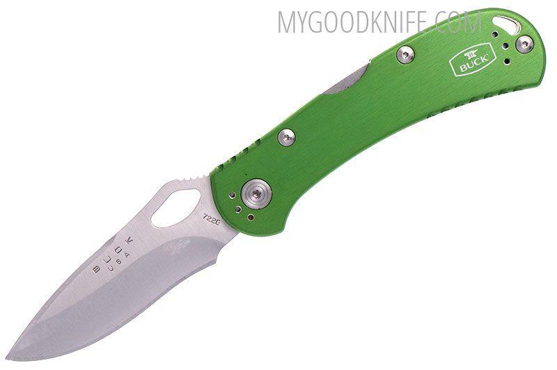 Фотография #5 Buck Spitfire™ Knife, green  (0722GRS1-B)