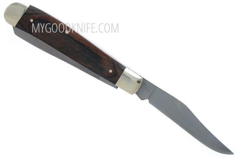 Photo #3 Buck 382 Trapper Knife 0382BRS-B