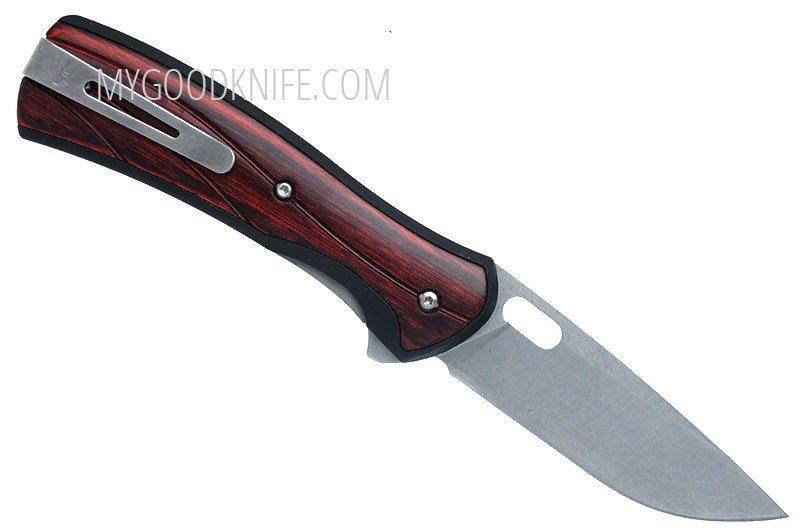 Фотография #2 Складной нож Buck 346 Vantage Large, розовое дерево 0346RWS-B 8.3см
