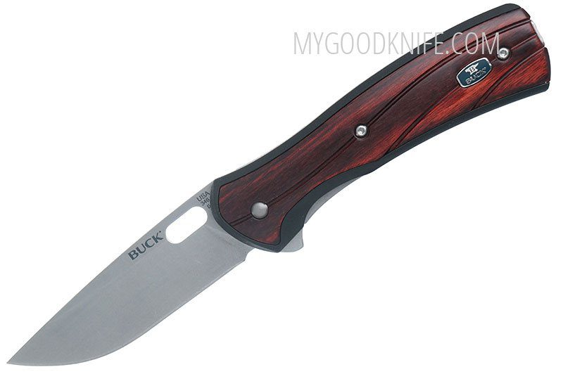 Фотография #1 Складной нож Buck 346 Vantage Large, розовое дерево 0346RWS-B 8.3см
