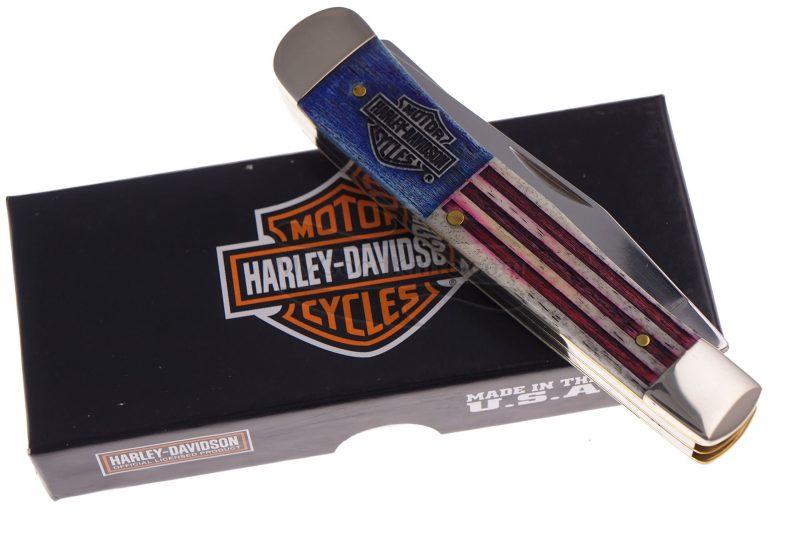 Valokuva #6 Trapper-kääntöveitsi Case Harley-Davidson 2018 52199 7.9cm