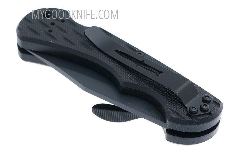 Фотография #6 Camillus Lev-R-Lok® 6.75″ Carbonitride Titanium Drop Point Folding Knife 19062