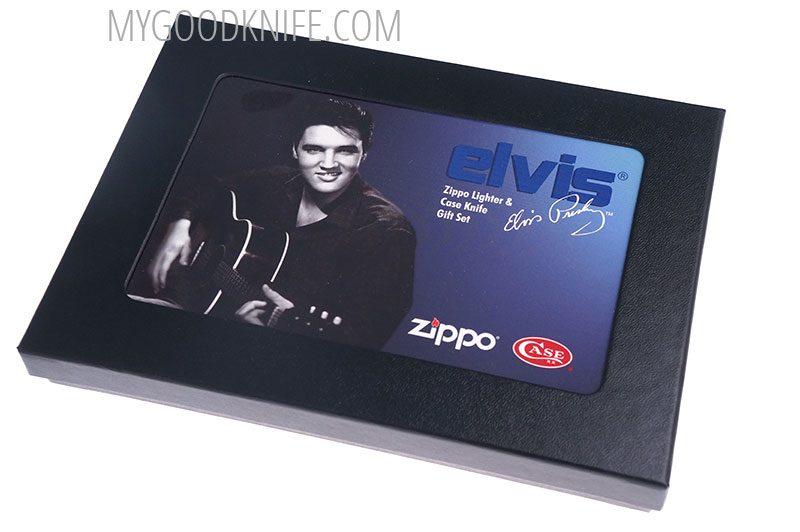 Valokuva #2 Case Elvis Trapper Zippo set (17510)