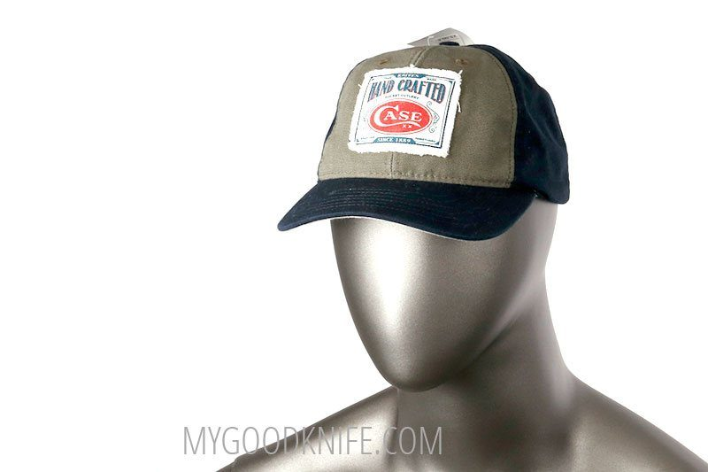 Photo #1 Case Blue and Gray Baseball Cap  (50170)