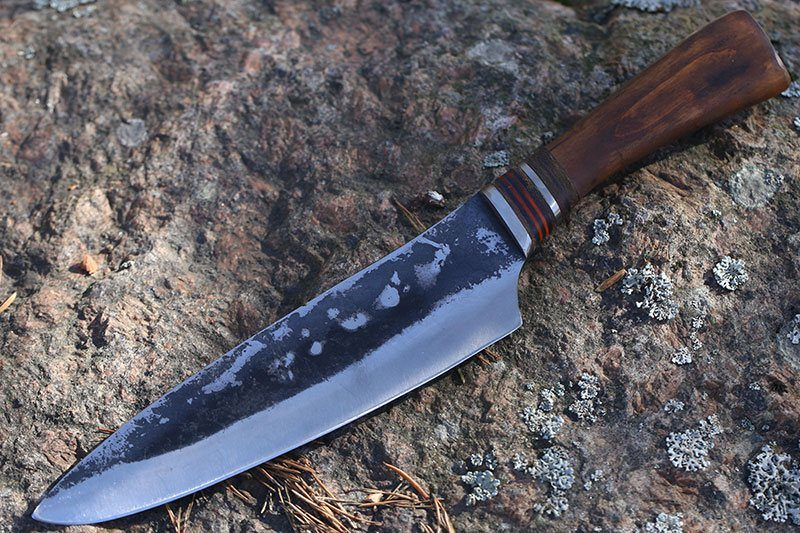 Photo #1 Cathill Knives Chef knife, oak handle