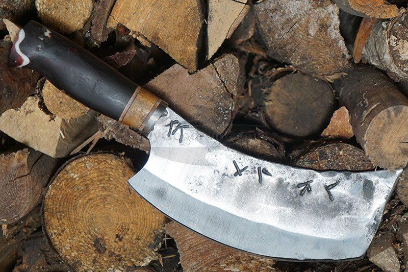Фотография #1 Универсальный кухонный нож Cathill Knives Комбинированная рукоять ckkc2305 17см