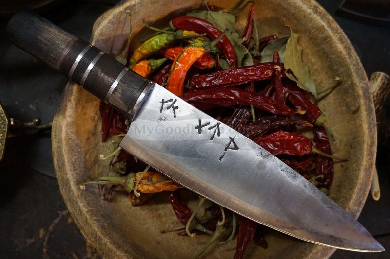Photo #2 Chef knife Cathill Knives Runes blade cchtt 22.5cm