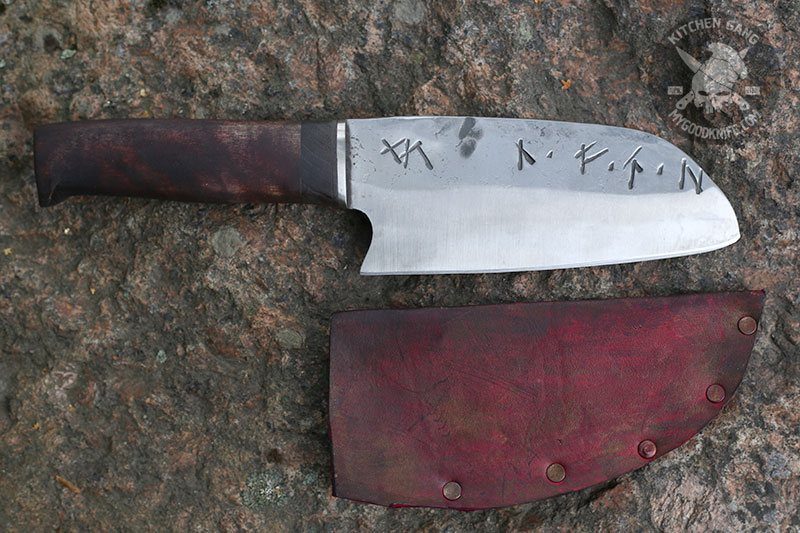 Photo #1 Cathill Knives Santoku, oak
