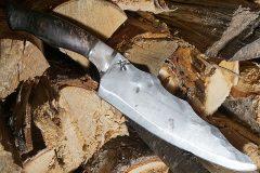 Kokkiveitsi Cathill knives, aaltoileva