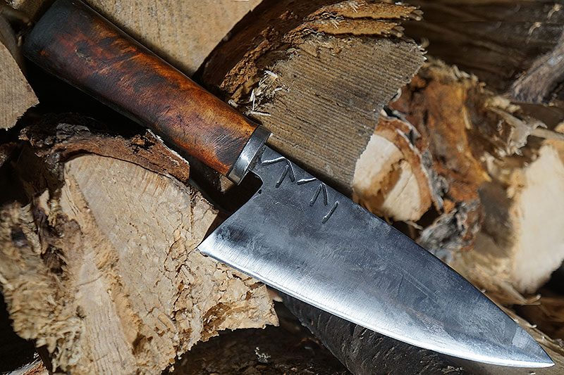 Photo #1 Utility kitchen knife Cathill Knives Handmade ckkk 14.5cm