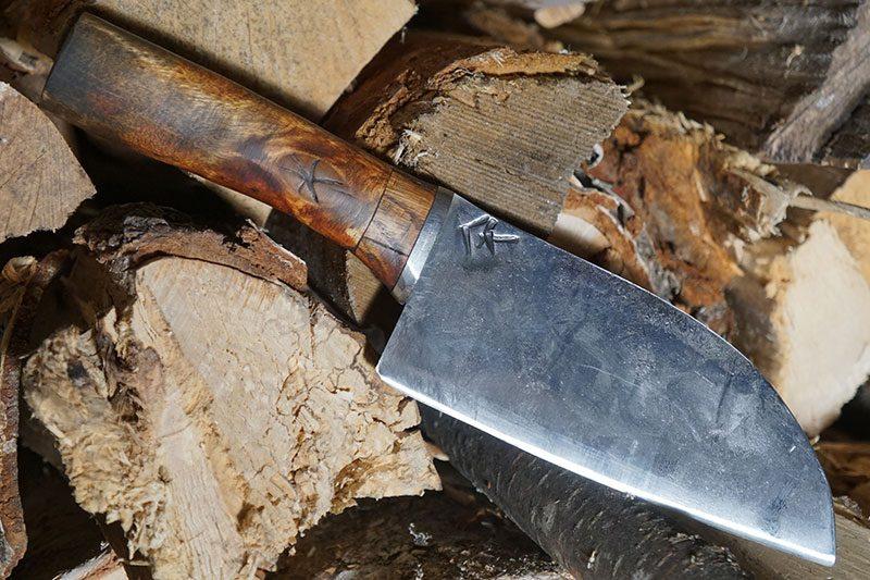 Photo #1 Utility kitchen knife Cathill Knives Santoku  ckss 14.6cm