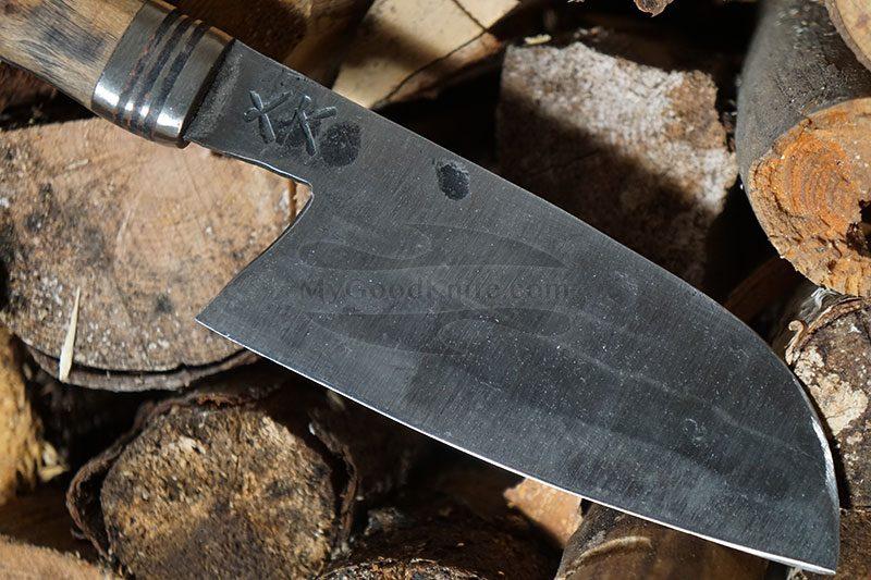 Фотография #3 Универсальный кухонный нож Cathill Knives Сантоку, дуб ckst2305 14.5см