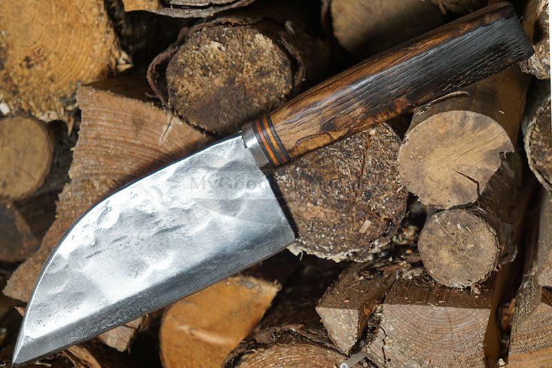 Photo #2 Utility kitchen knife Cathill Knives Santoku, smoked oak cksst2305 14cm