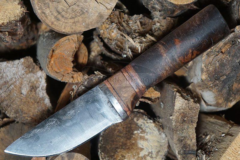 Valokuva #2 Cathill Knives Eräpuukko, stabilisoitua koivunpahkaa ckepkp2305 9.7cm