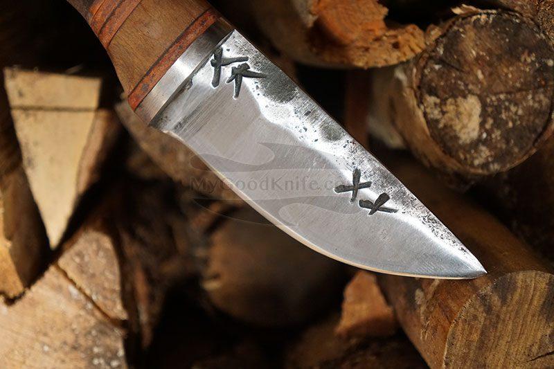 Valokuva #3 Cathill Knives Eräpuukko, stabilisoitua koivunpahkaa ckepkp2305 9.7cm