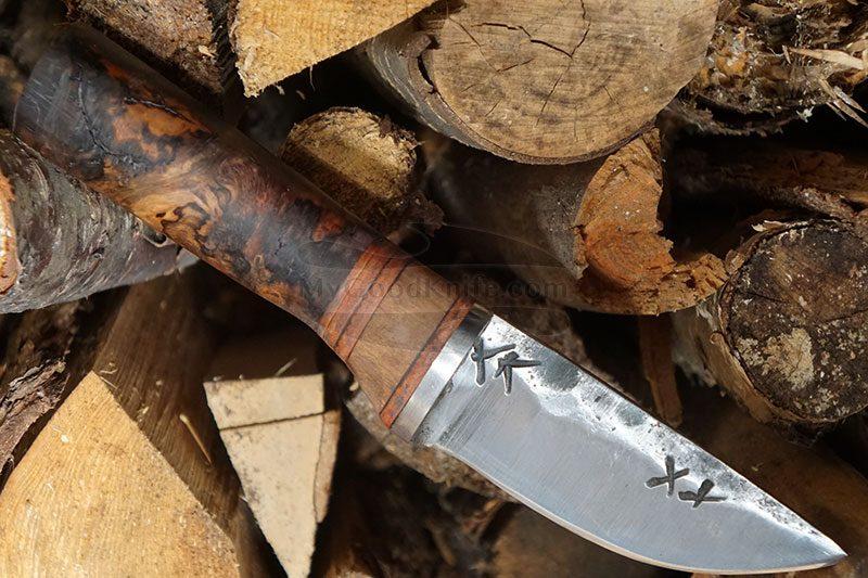 Valokuva #1 Cathill Knives Eräpuukko, stabilisoitua koivunpahkaa ckepkp2305 9.7cm