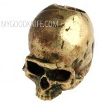 Фотография #4 Lanyard Bead Skull small, bronze
