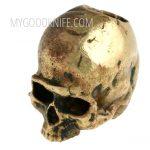 Фотография #1 Lanyard Bead Skull small, bronze