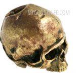 Фотография #3 Lanyard Bead Skull small, bronze