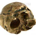 Фотография #2 Lanyard Bead Skull small, bronze